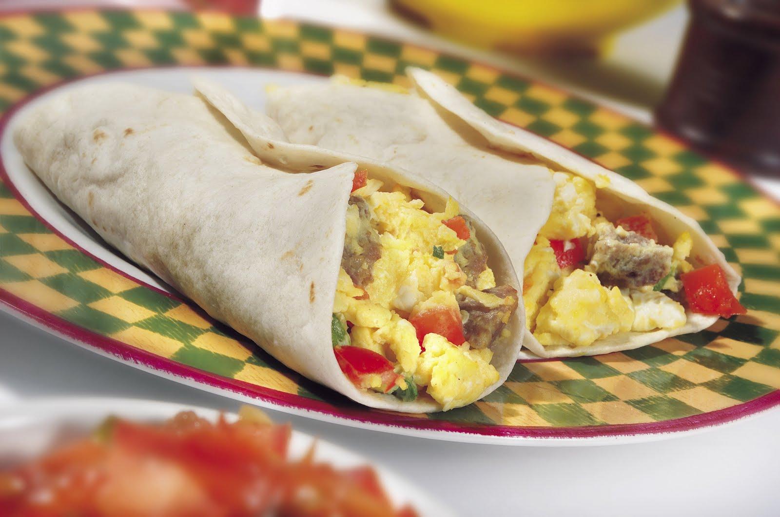 Breakfast Burrito On the Go